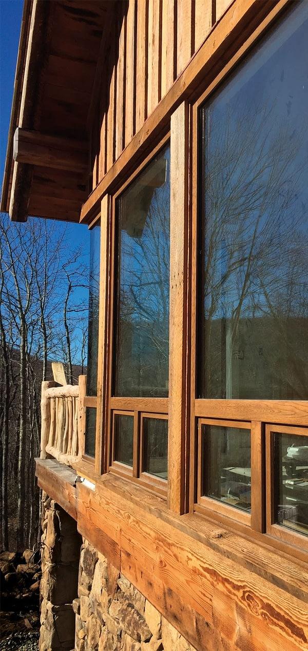 Деревянные окна PB