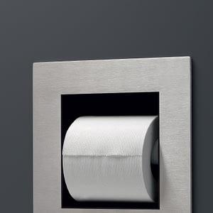 Встроенный держатель для туалетной бумаги POR01