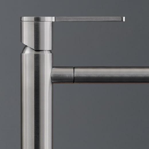 Настольный запорный клапан для холодной воды с вращающимся краном для сильного потока. Высота 155 мм INV03