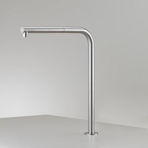 Настольный вращающийся кран с выдвигающимся ручным душем FRE147