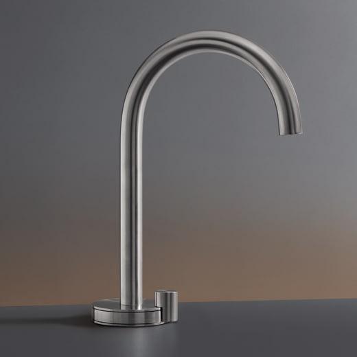 Настольный запорный клапан для холодной воды с краном. Высота 255 мм GIO45