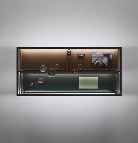 Прозрачный шкафчик Alambra